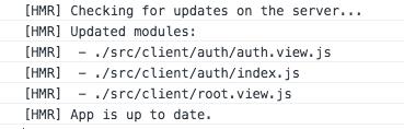 Module Tree in Console